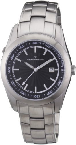 Tom Tailor Men's Quartz Watch 5407504 with Metal Strap
