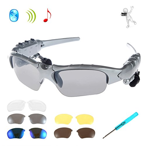 Bluetooth Headphones Sunglasses Handsfree Replaceable
