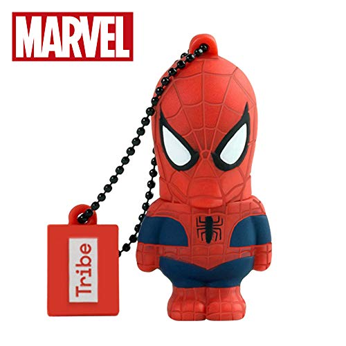Tribe Marvel The Avengers Pendrive Figure 16GB USB Flash Drive 2.0 Memory Stick Data Storage - Spiderman (FD016505)