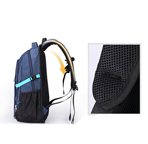 Shoulder Business Multi Leisure Student Travel Darkblue purpose Laidaye Backpack Bag pqgwfAd