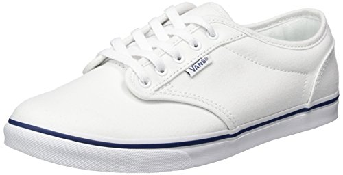 Vans Herren Atwood Schuh Leinwand Weiße Marine