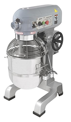 Heavy Duty gear driven commercial planetary mixer, 30 quart, 120V, Adcraft PM-30 30 Quart Floor Mixer