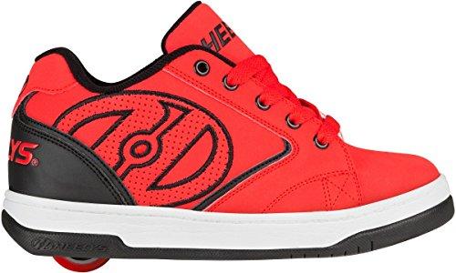 Heelys Propel 2.0 770255 - Zapatos Una Rueda Para Niños Rojo, negro, blanco