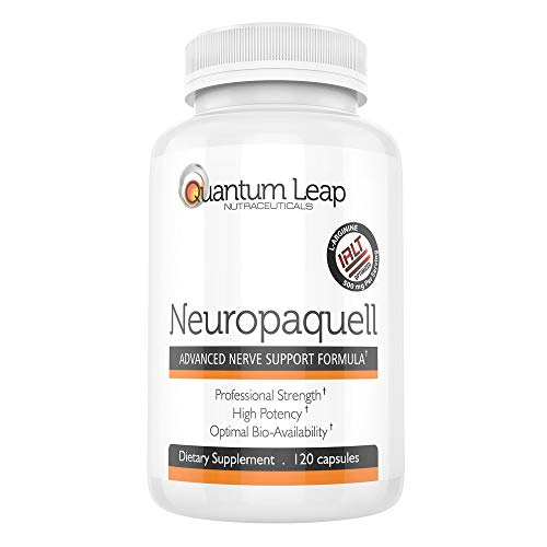- Clinical Strength Neuropathy Pain Relief. Advanced Nerve Support Formula. 120 capsules
