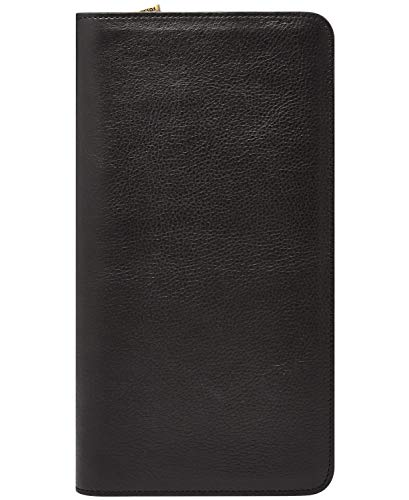 Multi Currency Passport Case - Fossil Leather Passport Case