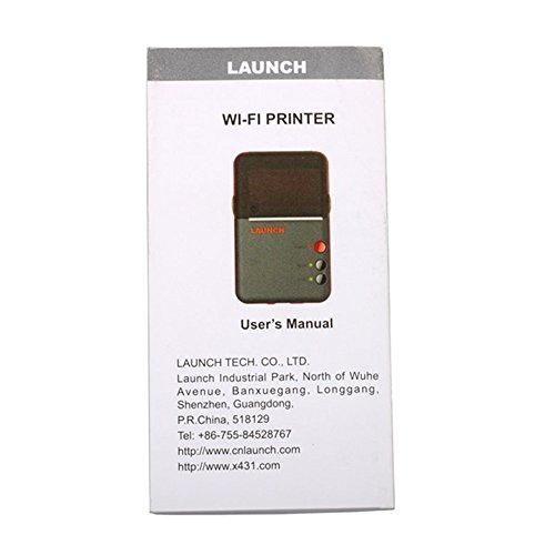 ICARSCANNER Original Launch X431 Wifi Printer for Launch X431 V,X431 Pro, x431 5c,x431 Pad Launch Mini Printer by Launch (Image #5)