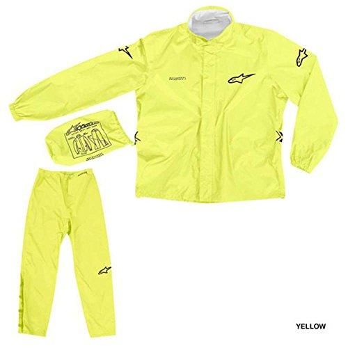 Quick Seal Out Regenkombi 2tlg. fluo-gelb L - Motorrad Regenbekleidung
