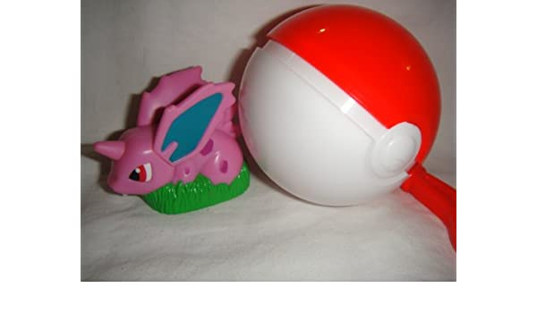 Burger King Pokemon Happy Meal Nidoran lanzador con llavero ...