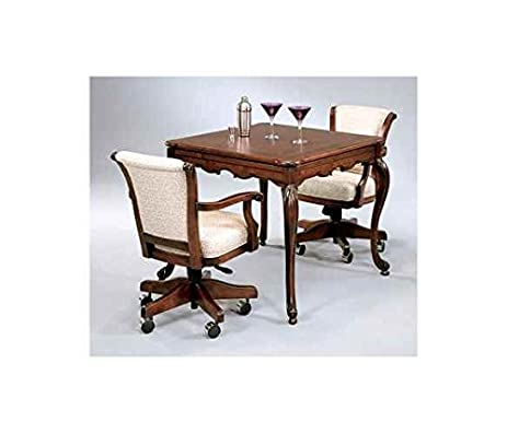Cape Cod French Style Square Game Table In Maple Finish (Provincial  Mahogany Maple)