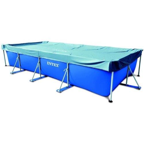 Intex 07432Abdeckplane Pool rechteckig blau 4,50m
