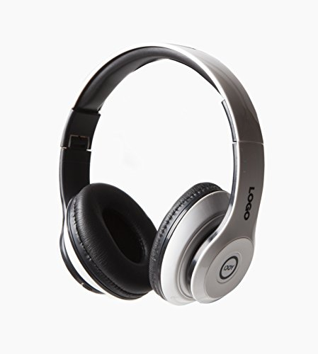 iJoy Matte Rechargeable Wireless Bluetooth Foldable Over Ear Headphones with Mic (GWT) - Vaas Bluetooth Headphones