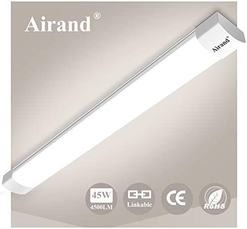 Airand Enlazables Tubos Led 150cm 45W 4500LM Fluorescente Led Lámparas de Taller IP66 Impermeable Luminaria Led Lampara para ...