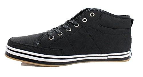 Ak collezione , Baskets pour homme noir noir 45