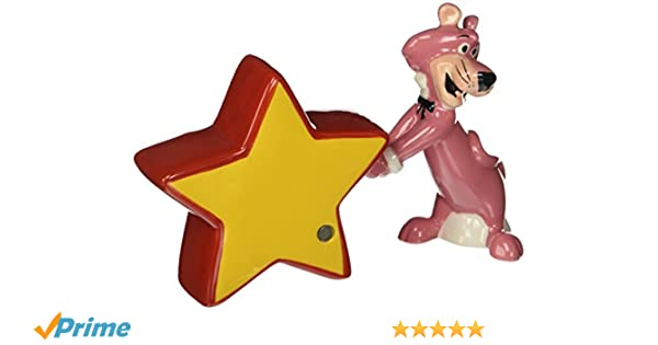 Westland Giftware Snagglepuss and Star Salt and Pepper Shakers Westberry Wellness Programs SS-WL-23404