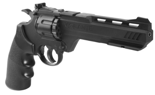 Crosman CCP8B2 Vigilante CO2 .177-Caliber Pellet and BB Revolver