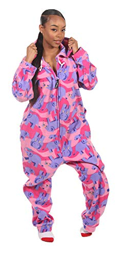 Forever Lazy Adult Onesie - Elephant -