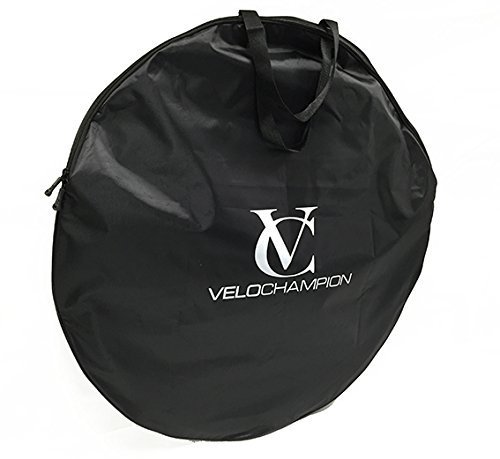 VeloChampion Bolsa para Ruedas de Bicicleta 700c - Negra Bicycle Wheel Bag - Black: Amazon.es: Deportes y aire libre