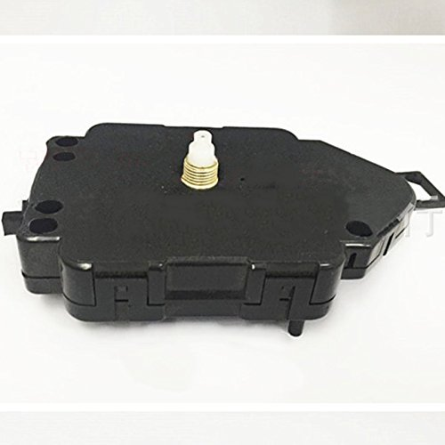 Kicode Replacement DIY Repair Tool Quartz Clock Pendulum Movement Mechanism Home Accessories Part Black