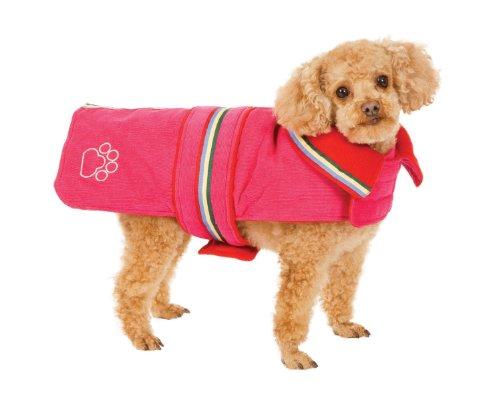Fashion Pet Chelsea Corduroy Dog Coat, Pink, Medium, My Pet Supplies
