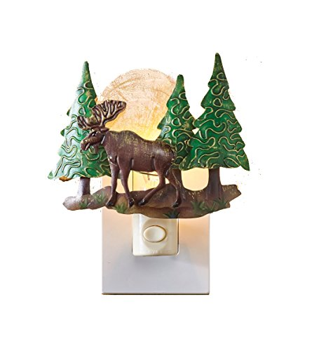 Park Designs Moose Scenic Night Light
