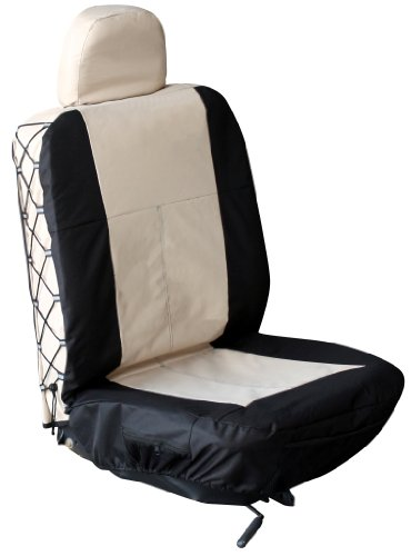 (Allison 67-5623TAN Tan Trekker Universal Bucket Seat Cover with Headrest Cover - Pack of 1)