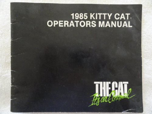 1985 Kitty Cat Snowmobile Owners Manual The Cat (Kitty Snow)
