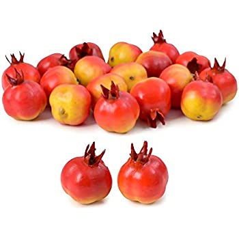 10 Fake Fruit Small Artificial Flower Red Cherry For Kids Funny Kitchen Toys PDH