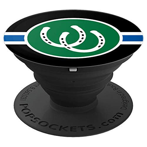 Human Pony Play BDSM Fetish Pride Flag PetPlay Gifts - PopSockets Grip and Stand for Phones and Tablets