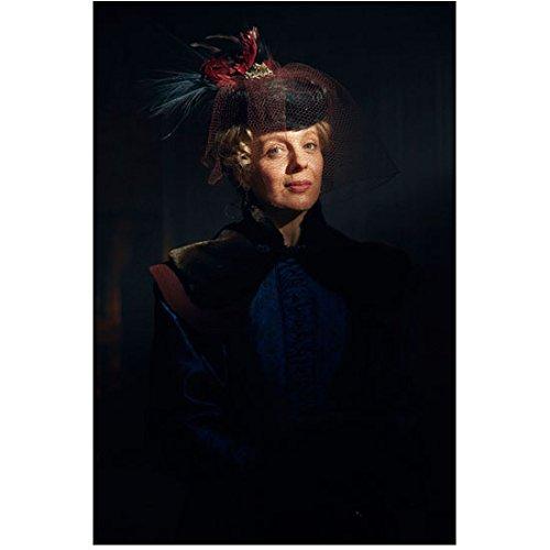 Sherlock Photo 8 inch x 10 inch PHOTOGRAPH Amanda Abbington Blue Dress w/Black Velvet Yoke Pose 3 kn ()