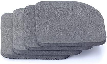 8 anti-vibración para lavadora reducir el ruido de fondo muebles ...