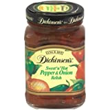 Dickinson's Relish, Pepper Onion, 8.75-Ounce (Pack of 6)