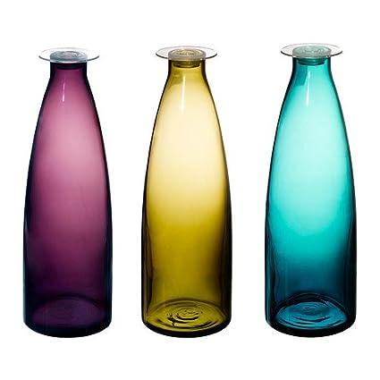 IKEA MILDRA - Botella, verde / lila, turquesa - 1 l