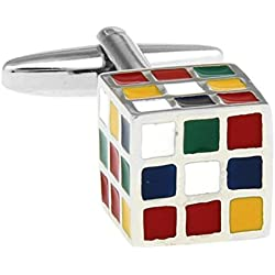 Rubik's Cube Cufflinks, Father's Day, Valentine's Gift