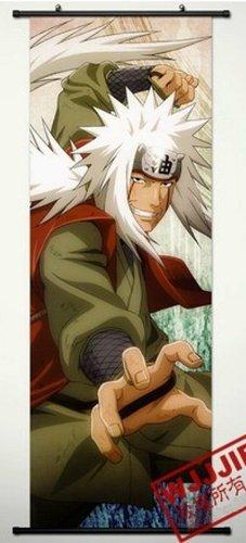 Home Decor Naruto Jiraiya Cosplay Wall Scroll Poster 49.2 X