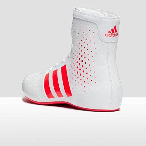 Boxeo Rojo 16 Y Zapatos Adulto Legend 2 Adidas Blanco Ko De Unisex 7HYwxOq