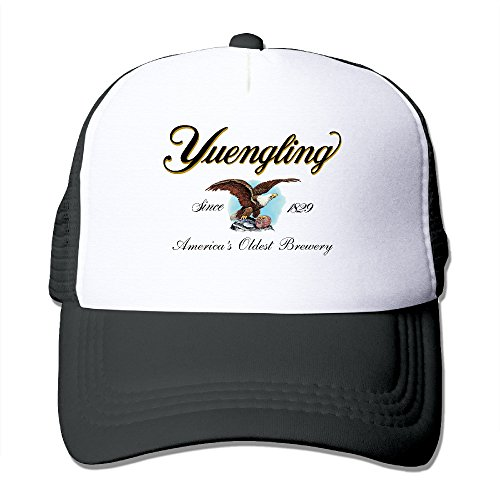 Yuengling And Sons Brewing Beer Adult Adjustable Mesh Hat Cap One Size Black