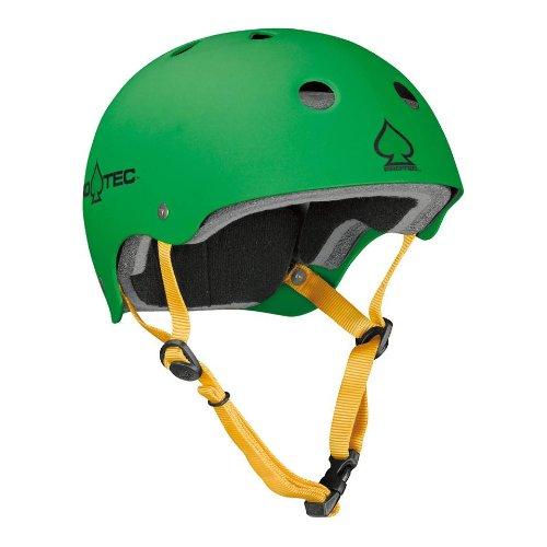 ProTec The Classic BMX helmet Gentlemen matte rasta green green