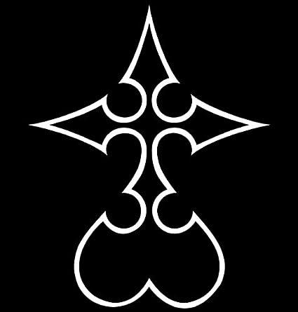 Amazon Kingdom Hearts Nobody Symbol Vinyl Die Cut Decal Sticker