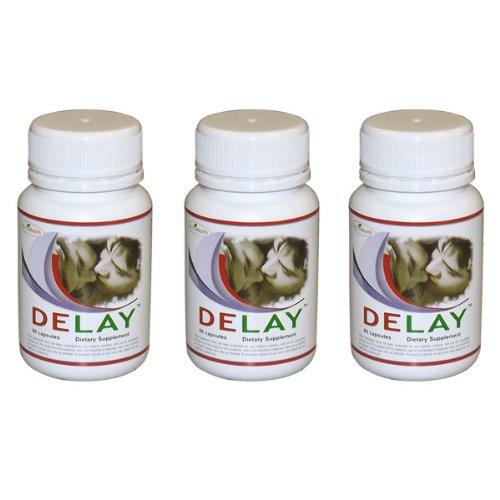 Retard pilules pour l'éjaculation précoce - PE - 3 Bouteilles - 180 Comprimés - Contrôler l'éjaculation précoce avec Maximum Pills Retard Force