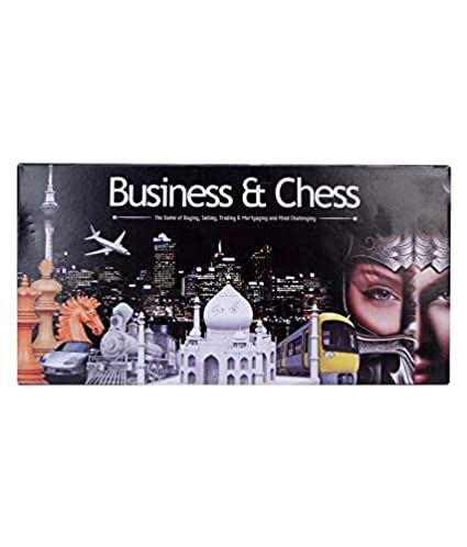 Zenith Toys Business and Chess 2 in 1 Game