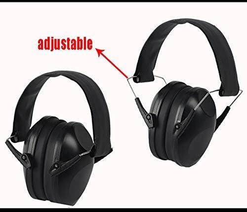 MTBD LGYRZ Noise Canceling Headphone Anti-noise Earmuffs Foldable Sleep Learning Industrial Protection Noise Reduction Silencer Headphones