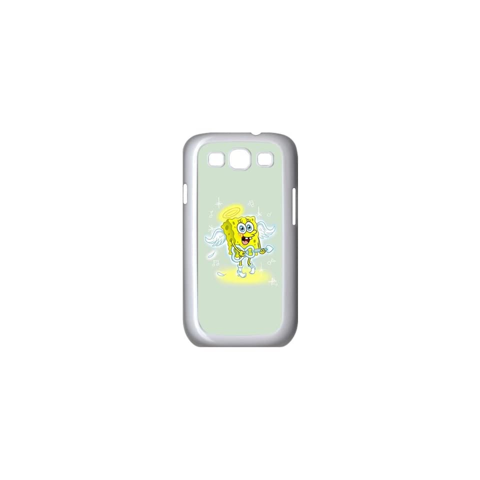 Personalized Custom Cartoon SpongeBob SquarePants Cover Case For Samsung Galaxy S3 I9300 Fitted Case S3SS82