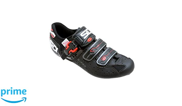 Amazon.com | Sidi Women Road Bike Shoes Genius 5 Pro Carbon Lite Standard Black/Black 37 | Cycling