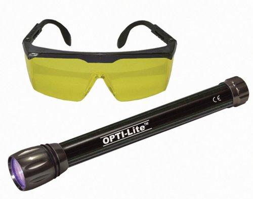 Spectronics Corp/Tracer TP8620CS Opti-Lite Cordless 6-LED Leak Detection - Enhancing Glasses Color