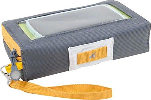 Detours Glovebox Handlebar Bag (Gray/Orange) by Detours