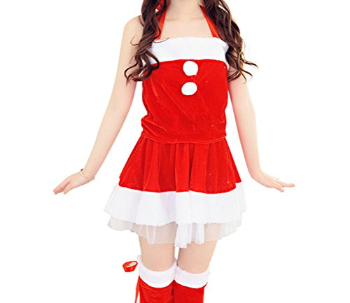 [TomYork Christmas Clothing DS Nightclubs Role-playing Neck Hanging Stage Performance Costumes] (Sexiest Halloween Costumes Galleries)
