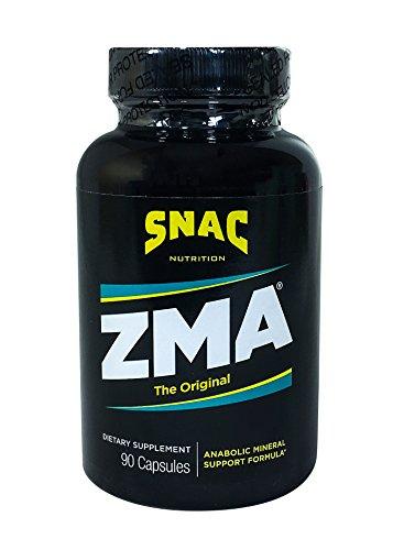 SNAC ZMA The Original Recovery and Sleep Enhancement Formula, 90 Capsules