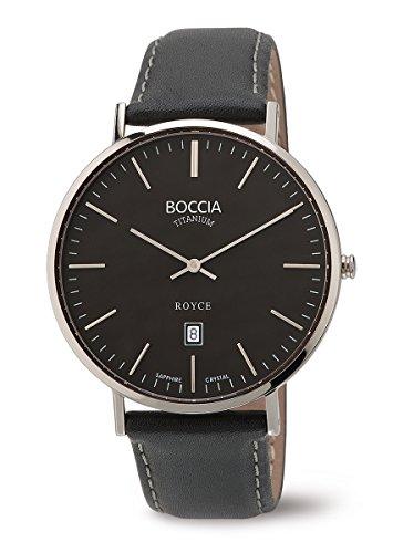 3589-02 Boccia Titanium Mens Watch