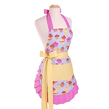 Flirty Aprons Women's Original Frosted Cupcake Apron