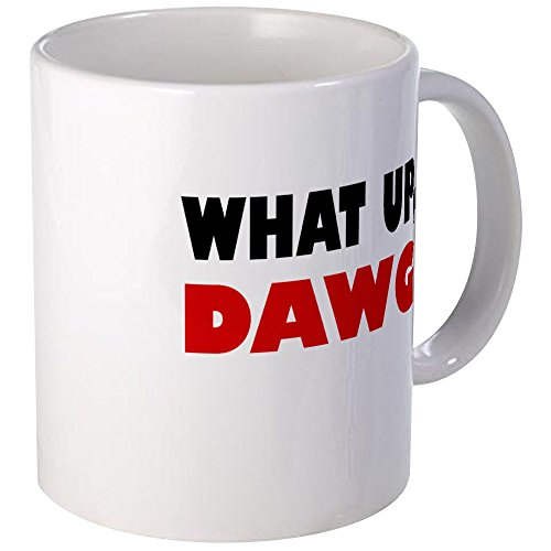 CafePress What Up, DAWG Mug Unique Coffee Mug, Coffee Cup